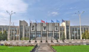 Здание посольства России в Лаосе