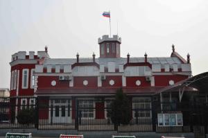 Здание генконсульства России в Оше