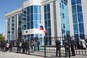 Здание генконсульства России в Усть-Каменогорске