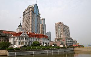 Здание генконсульства России в Шанхае