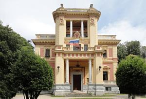 Здание консульского отдела посольства России в Италии