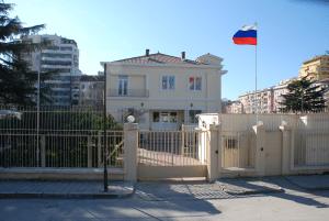Здание посольства России в Албании
