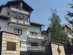 Здание посольства России в Боснии и Герцеговине