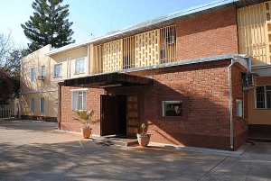 Здание посольства России в Ботсване
