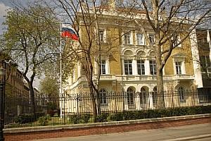 Здание посольства России в Венгрии