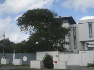 Здание посольства России в Гайане