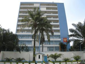 Здание посольства России в ДРК