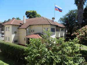 Здание посольства России в Зимбабве