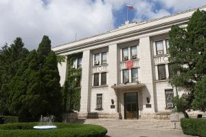 Здание посольства России в КНДР