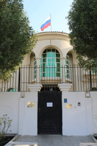 Здание посольства России в Катаре