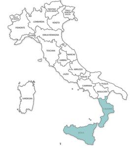 Консульский округ генконсульства в Палермо