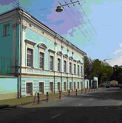 Здание посольства Бенина в Москве