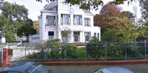 Здание посольства России в Нидерландах.