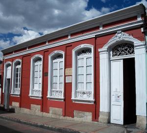 Здание Института культуры им. Л.Н.Толстого в Колумбии