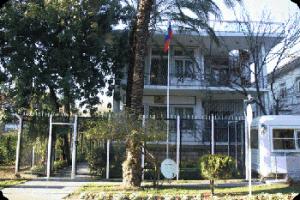 Здание генконсульства России в Анталье