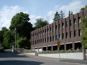 Здание генконсульства России в Турку Финляндия