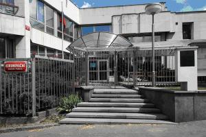 Здание консульского отдела посольства России в Праге