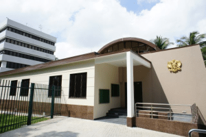 Здание консульства России в Сингапуре