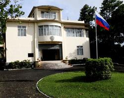 Здание посольства Россиина Маврикии