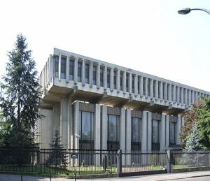 Здание посольства России во Франции.