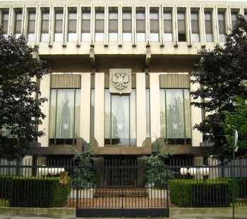 Здание посольства России во Франции