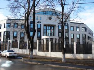 Здание посольства России в Молдове