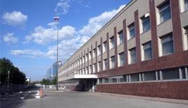 Здание посольства России в Монголии