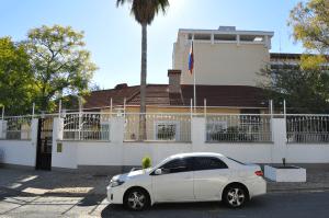 Здание посольства России в Намибии