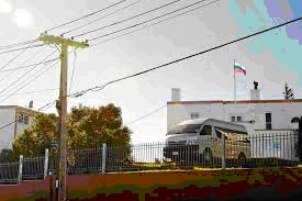 Здание посольства России в Новой Зеландии