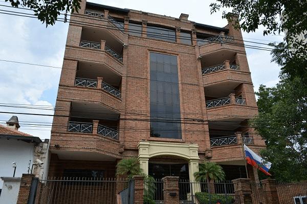 Здание посольства России в Парагвае