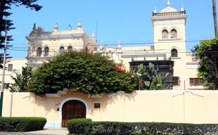 Здание посольства России в Перу.