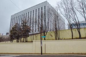 Здание посольства России в США.