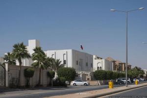 Здание посольства России в Саудовской Аравии