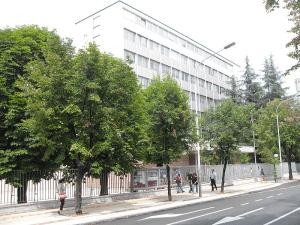 Здание посольства России в Сербии