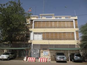 Здание посольства России в Судане