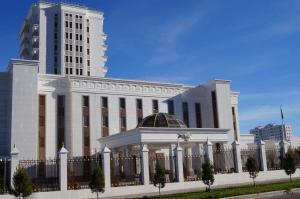 Здание посольства России в Туркменистане