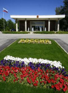Здание посольства России в Турции