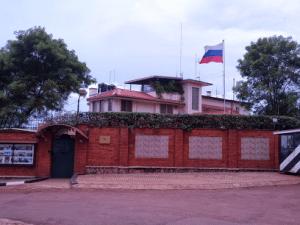 Здание посольства России в Уганде