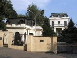 Здание посольства России в Чехии