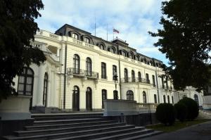 Здание посольства России в Чехии.