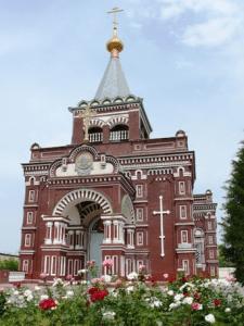 Свято-Покровский храм в городе Мары