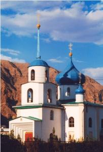 Храм Рождества Пресвятой Богородицы город Балканабад