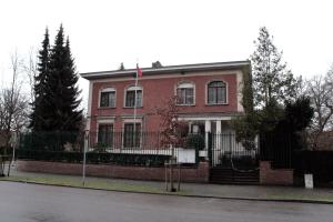 Здание генконсульства России в Антверпене