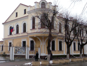 Здание генконсульства России в Бресте