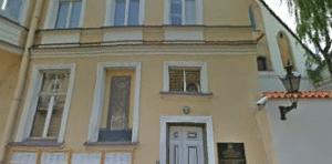 Здание консульского отдела посольства Росии в Таллинне