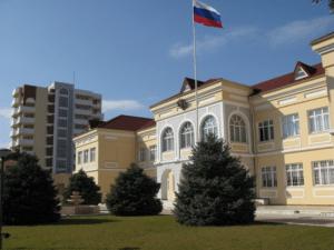 Здание посольства России в Азербайджане
