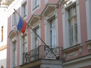 Здание посольства России в Эстонии