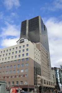 Здание Израильского Культурного Центра в Новосибирске
