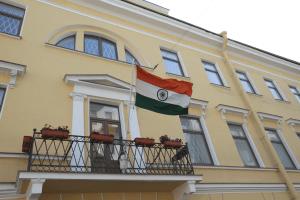 Здание генконсульства Индии в Санкт-Петербурге