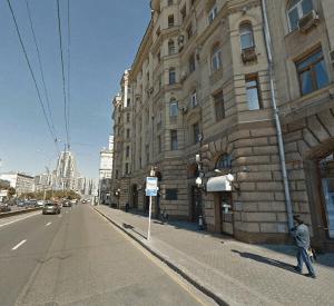 Здание посольства Джибути в Москве